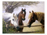 Old Friends Giclee Print by Simon Ludvig Ditlev Simonsen