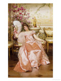 Ready for the Ball Giclee Print by Joseph Frederic Soulacroix