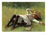Resting Giclee Print by Alexander Stuart Boyd
