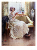 Quiet Read Giclee Print by William Blacklock