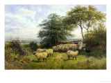 Changing Pastures Giclee Print by William Shayer Sr.