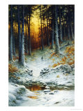 Glowing Sunset Reproduction procédé giclée par Joseph Farquharson