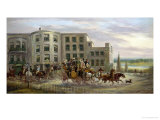 The Old Star and Garter, Richmond Hill Giclee Print by John Charles Maggs