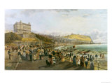 The Promenade, Scarborough Giclee Print by John Syer