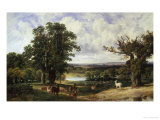 Richmond Park Reproduction proc&#233;d&#233; gicl&#233;e par John F. Tennant