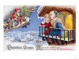 Christmas Wishes Giclee Print