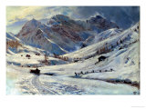 Three Giants, Davos Giclee Print by Harry Goodwin