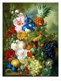 Rich Still Life of Summer Flowers Lámina giclée por Georgius Jacobus J. van Os