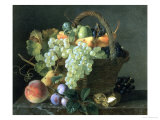 Still Life with Fruit Giclee Print by Jean A. Mouchet