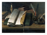 Books of Account, 17th Century Giclee Print