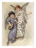 Joyful Angels Giclee Print