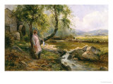 The Miller's Daughter Giclee Print by Ernest Walbourn