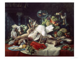 Still Life with Game Reproduction proc&#233;d&#233; gicl&#233;e par Lucas Schaefels