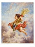 The Seasons: Summer Giclee Print by Charles Lutyens