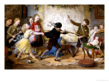 Holiday Riots Or the Muckley Children at Play, c.1869 Giclee Print by William Jabez Muckley