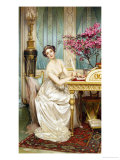 The Love Letter Giclee Print by Charles Soulacroix