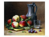 Stil Life of Fruit Giclee Print by Leon Charles Huber