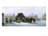 The Bath, Reading and London Coach Giclee Print by John Charles Maggs