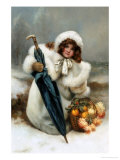 Christmas Fare Giclee Print by Norman Prescott-Davies