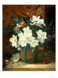 Christmas Roses Giclee Print by William Jabez Muckley
