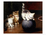 Balancing Act Giclee Print by Leon Charles Huber