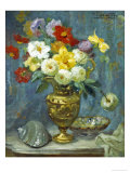 Summer Flowers Giclee Print by Jacques Martin