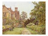Chequers Court, Buckinghamshire Giclée-Druck von Ernest A. Rowe