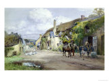 Outside the Ship&#39;s Inn Giclee Print by Henry Sykes