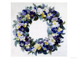 Garland of Posies Giclee Print by Antoine Pascal