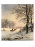 Homeward Bound Giclee Print by Anders Andersen-Lundby