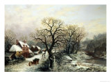 Near Malvern, Worcestershire, c.1882 Reproduction procédé giclée par William Stone