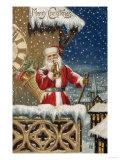 Merry Christmas Giclee Print