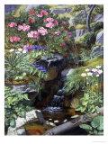 Alpine Flowers by a Stream Giclée-Druck von Otto Didrik Ottesen