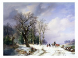 On the Way to the Market Giclee Print by Abraham Couwenberg