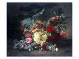 Floral Composition Giclée-Druck von Jean Baptiste Claude Robie