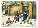 Giant Snowball Reproduction proc&#233;d&#233; gicl&#233;e par William Weekes