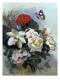 Romantic Bouquet Giclee Print by Horace Van Ruith