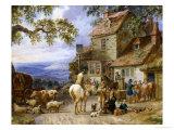 Village Tavern Giclee Print by Dean Wolstenholme