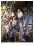 Palm Court Giclee Print by Henri Gerbault
