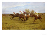 Race to the End Giclee Print by Thomas Blinks