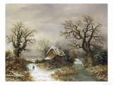 Christmas Eve Giclee Print by Charles Leaver