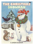 The Christmas Snowman Photographic Print