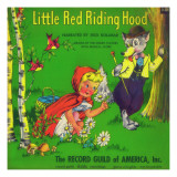 Riding Hood Record Guild Photographic Print