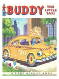 Buddy the Little Taxi Photographic Print