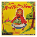 Riding Hood Tops Photographic Print