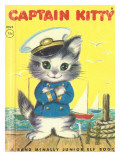 Captain Kitty Photographic Print