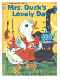 Mrs. Duck's Lovely Day Photographic Print