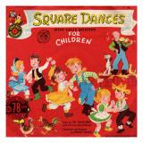 Square Dance, Giclee Print