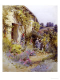 Cottage Garden Giclee Print by Harold Swanwick