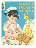 Nancy Plays Nursery Poster